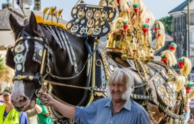 The annual Liskeard Carnival